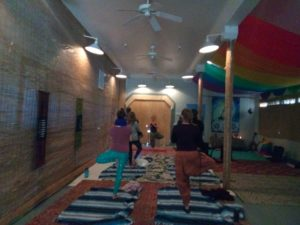 Yoga in the Barn at the Wellness Ranch