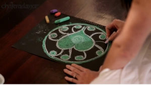 mandala art for chakra healing